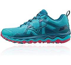 Mizuno Wave Mujin 6, Zapatillas de Trail para Mujer, Peacock Blue ...