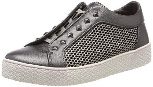 bugatti Damen 431525625969 Slip On Sneaker, Grau (Dark Grey/Metallic 1190), 36 EU