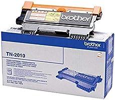 Brother TN-2010 Toner Originale Capacità Standard, fino a 1000 Pagine, per Stampanti HL2130, HL2132, HL2135W, DCP7055,...