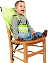 Baby High Chair Dining Eat Feeding Safety Travel Car Seat Harness Belt Fastener, Green