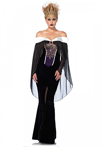 shoperama Her Royal Darkness - Costume da regina Leg Avenue
