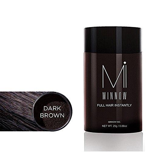 Moresave Hair Building Fiber Haarfasern Haarausfall Behandlung von Keratin Fasern Gebäude für Männer und Frauen, dunkelbraun