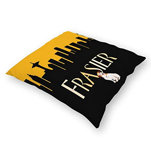 Qualet Frasier Plush Cloth Pillow Covers Decorative 18X18 in Pillowcase Cushion Covers