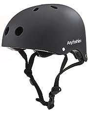スポーツ ヘルメット 子供用/大人用 スケボー ジュニアヘルメット 自転車 キッズ こども用 ローラーブレード ブレイブボード 男女兼用 子供乗せ 保護 安全 自転車ヘルメット S-L 【Anyfashion】