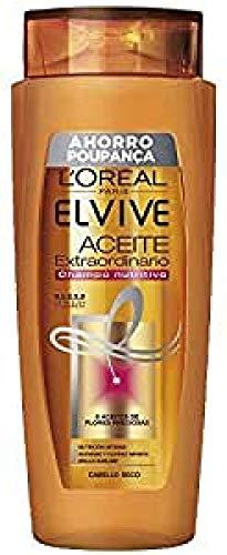 L'Oreal Paris - Elvive Champú Aceite Extraordinario, para Cabellos Normales y Grasos, 700 ml