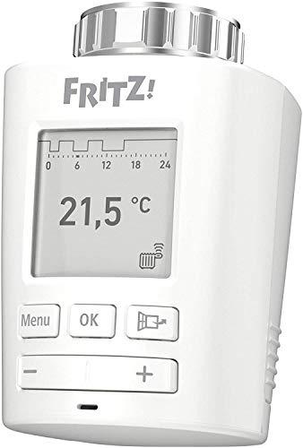 FRITZ!DECT 301 Intelligenter Heizkörperregler für das Heimnetz, für alle gängigen Heizkörperventile und FRITZ Box mit DECT-Basis, FRITZ!OS ab Version 6.83