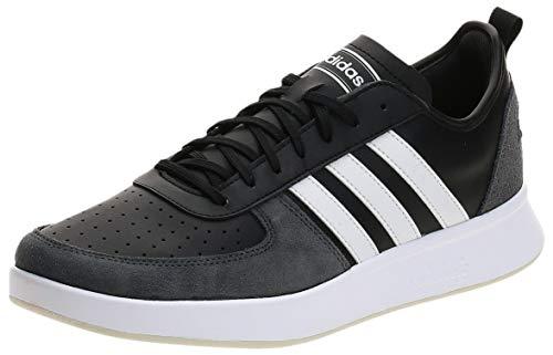 adidas COURT80S, Scarpe da Tennis Uomo, Core Black/Ftwr White/Grey Six, 48 EU