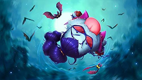 Póster de League Of Legends Poro Vayne League Of Legends (30,5 x 45,7 cm), multicolor