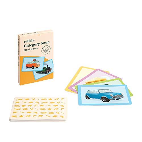 Relish Category Schnipp Schnapp Kartenspiel mit großen Bildern – Alzheimer & Demenz-Aktivitäten, Fördermittel & Spiele für ältere Personen/Senioren