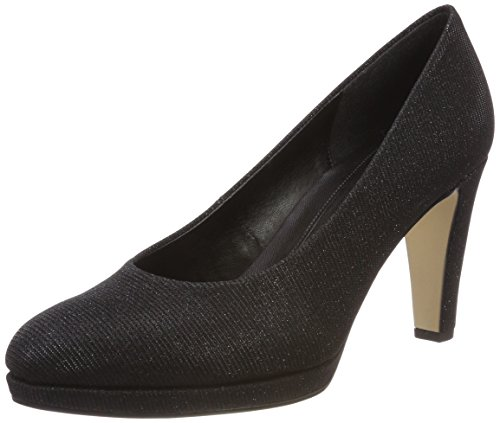 Gabor Shoes Damen Fashion Pumps, Schwarz (Schwarz (Natur), 40 EU