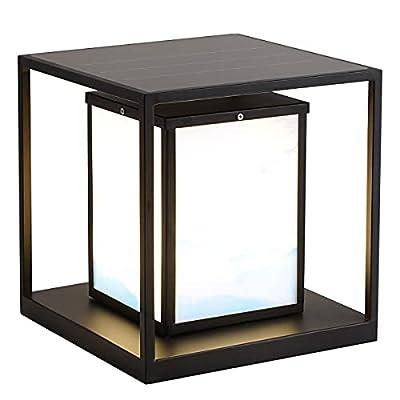 Lámpara Solar LED Cubo Minimalista