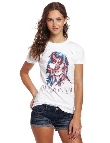 FEA Madonna JRS MDNA Camiseta de tejido gráfico para mujer - blanco - Large