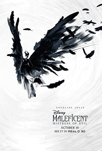 prindesign Maleficent Mistress of Evil - Movie Poster Wall Decor Filmplakat - 45 X 70 cm