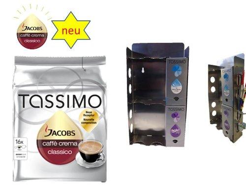 Jacobs Caffé Crema Classico + dem neuen Tassimo T Disc Dispenser von James Premium®
