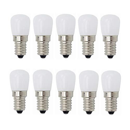 Bombilla LED E14 Bombilla LED SES LED Bombillas pigmeas Bombillas de bajo consumo 3W 180LM [Equivalente a una bombilla halógena de 20W] for frigorífico / campana extractora / máquina de coser 220V 10-