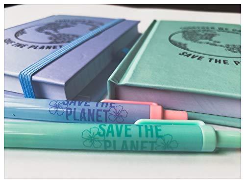 Pack 2 Cuadernos Notas más 2 Bolígrafos a Juego Libreta Direcciones Blocs Diario Regalo Cumpleaños Libreta Diseño Libreta Bonita para Oficina Colegio Universidad