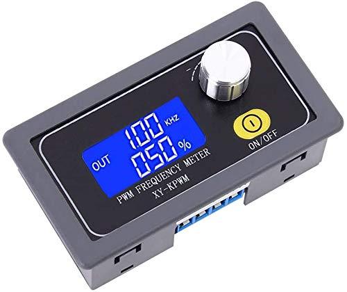 ZHITING Generador de frecuencia de Pulso PWM, DC 3.3V-30V 5-30mA 1 Canal 1Hz-150kHz Generador de señal de Salida Ajustable Ciclo de Trabajo Función de Onda Cuadrada Módulo generador de señal