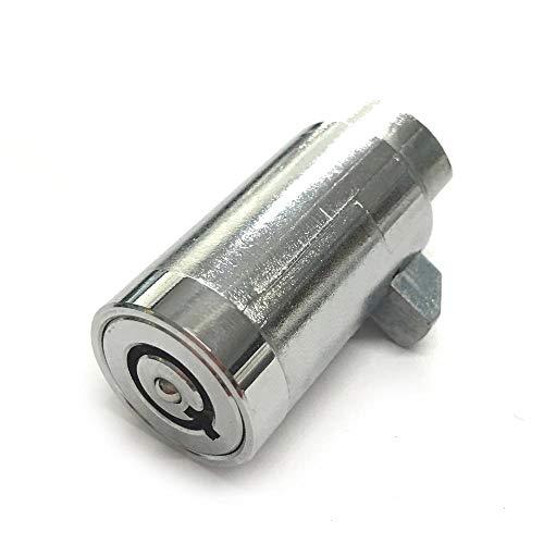 Cilindro de bloqueo de venta con núcleo de bloqueo Cerradura de llave tubular para caja de herramientas de vidrio Equipo de máquina expendedora