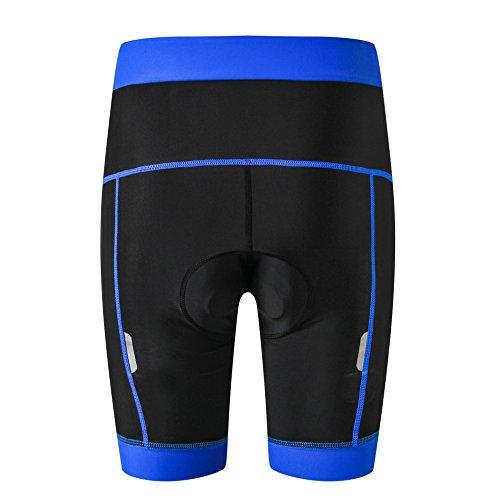 weimostar Pantalones cortos de ciclismo acolchados para muje