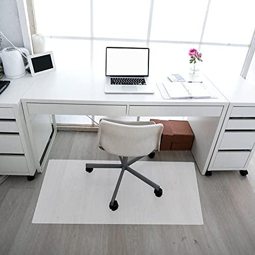 CCLIFE Bodenschutzmatte transparent Bürostuhl Unterlage 120x 90 durchsichtig Office chairmats