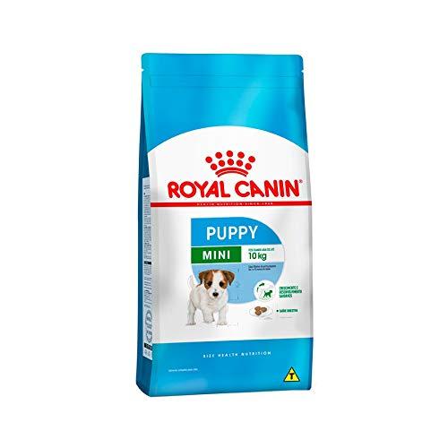 Ração Royal Canin Mini Junior Cães Filhotes 2,5Kg Royal Canin para Todas Todos os tamanhos de raça Filhotes - Sabor...