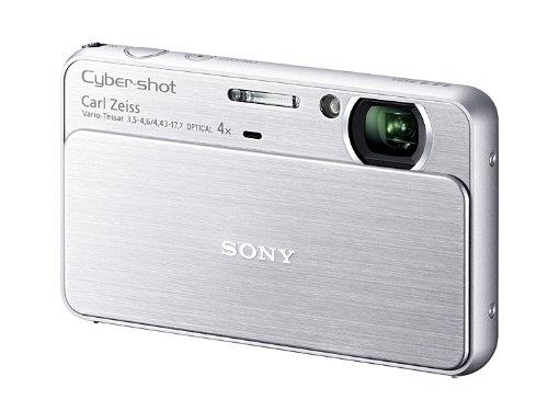 ソニー SONY デジタルカメラ Cybershot T99 (1410万画素CCD/光学x4/デジタルx8) シルバー DSC-T99/S
