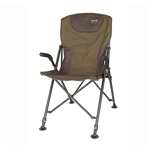 Fox EOS Folding Chair - Angelstuhl zum Karpfenangeln & Wallerangeln, Stuhl für Angler, Campingstuhl zum Ansitzangeln, Karpfenstuhl