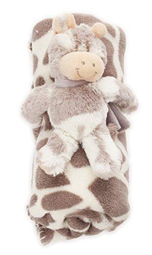bébé Couverture douce avec Animal en peluche chaud couverture BF 000033 - Gris / Les Taches