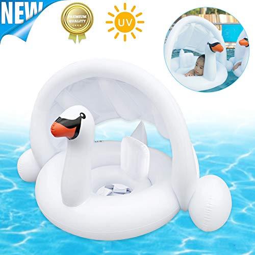 Sunshine smile Anello di Nuoto,Anello da Nuoto per Bambini,Anello da Nuoto gonfiabili,seggiolino Piscina per Bambini,Galleggiante per Piscina per Bambini (G)