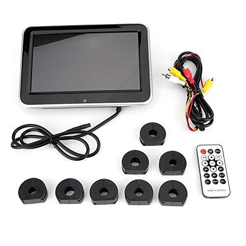KIMISS Auto Kopfstützen Monitor, 8 in HD Universal Auto Kopfstützen Monitor DVD Video Player USB/SD/FM TFT LCD Digital Bildschirm Mp5
