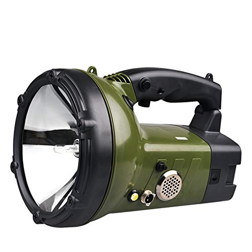 H/A Portable Spotlight 100W HID Xenon Searchlight Boat High power Rechargeable 220W hunting military Flashlight