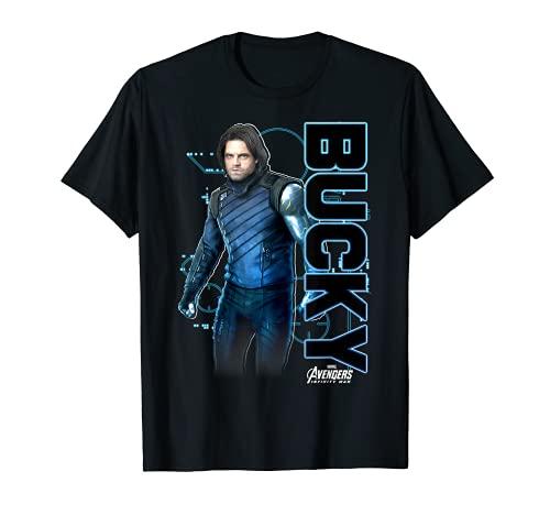 Marvel Avengers Infinity War Bucky Tech Graphic T-Shirt