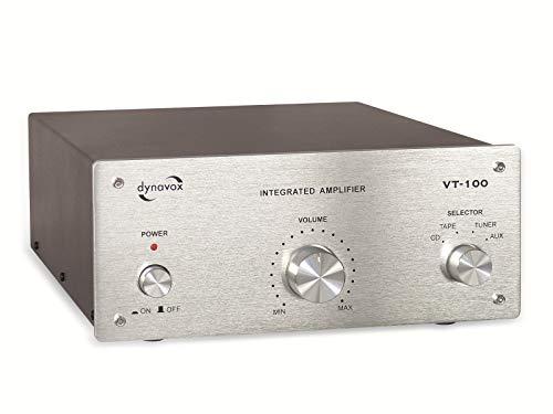 DynaVox 206397 VT-100 versterker zilver