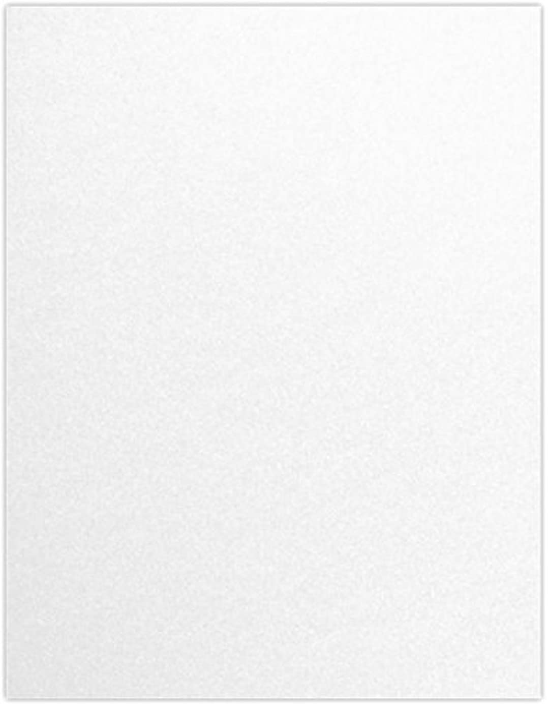 8 1/2 x 11 Cardstock - Crystal Metallic (50 Qty) | Perfect for Printing, Copying, Crafting, various Business needs and so much more! | 81211-C-30-50 wfz7424125