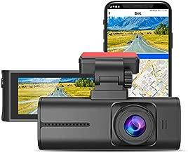 BlueSkySea 4K Dash Cam, 3840x2160P Ultra HD Car Dash Camera w/ WiFi, GPS, 8MP Sensor, 3.16