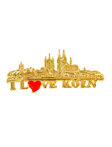 Deiters Pin I Love Köln / Kölner Skyline