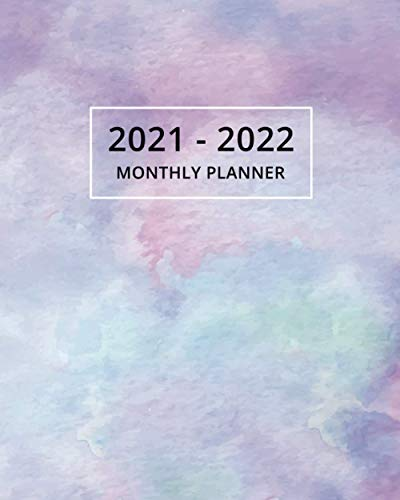 2021-2022 Monthly Planner: Two Y...