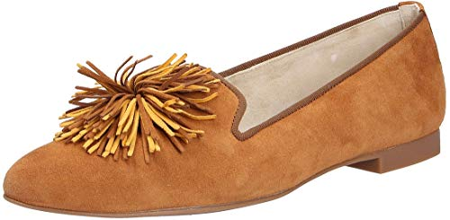 Paul Green Damen Mokassins 2531, Frauen Slipper, Schuh Loafer businessschuh weibliche Lady Ladies feminin Women,Caramel/Marigold,40 EU / 6.5 UK