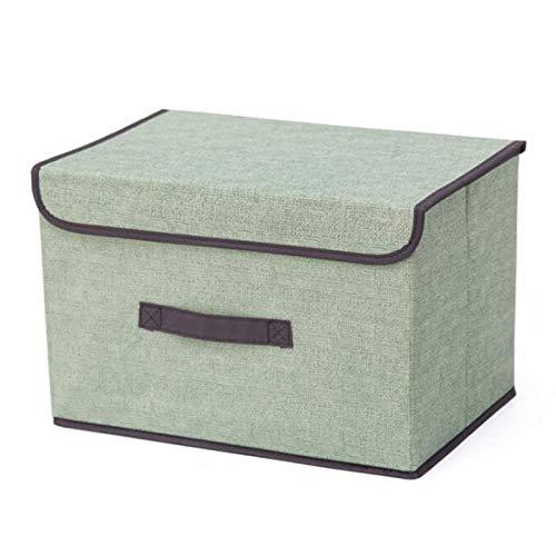 Vaorwne Aufbewahrungs Boxen mit Deckel Kein Geruch Polyestergewebe Klare Aufbewahrungs K?Rbe Beh?Lter Beh?Lter mit Doppeltem Deckel Organizer