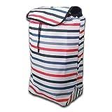 Bolsa de repuesto para carrito de la compra, bolsa de almacenamiento, tela Oxford, resistente al agua, 43 L (tamaño: 34 x 25 x 51 cm) (tamaño: A)