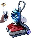 JINGBO Robot automático limpiafondos para Piscinas (Fondo y...