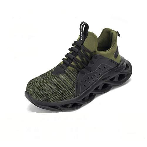 N-B Zapatos de seguridad de los hombres Anti-rotura Anti-pinchazos Air-soft Bottom Construcción Sitio de trabajo Zapatos de seguridad antideslizantes y resistentes al desgaste