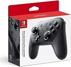 Faites monter vos sessions de jeu avec la manette Nintendo Switch Pro Fabriqué aux États-Unis Livré avec câble de charge (USB C vers USB A) Dimensions de l'emballage : 6.45 x 5.05 x 2.56 in