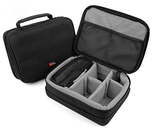 DURAGADGET Grey EVA Protective Mini Projector Case - Compatible with The ExquizOn S6