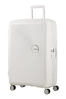 American Tourister Soundbox Spinner Espandibile Bagaglio A Mano,  2,6 Kg, Bianco (Pure White), Spinner S (55 cm - 41 L) (B07283KPZH) | Amazon price tracker / tracking, Amazon price history charts, Amazon price watches, Amazon price drop alerts