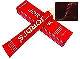 Tintes Profesionales color intenso y brillante - 6.55- RUBIO OSCURO CAOBA ROJO - Coloración en crema 100ml.