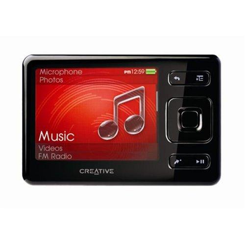 Creative Zen 2 GB Portable Media Player (Black)