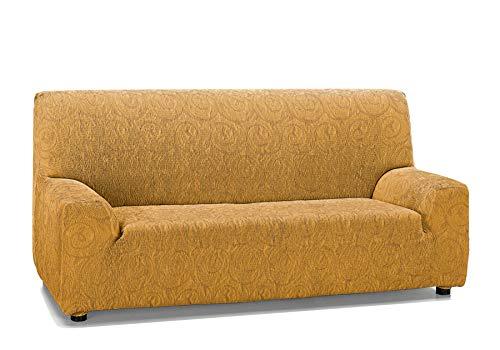 Martina Home Indiana Funda de sofá, Mostaza, 3 Plazas