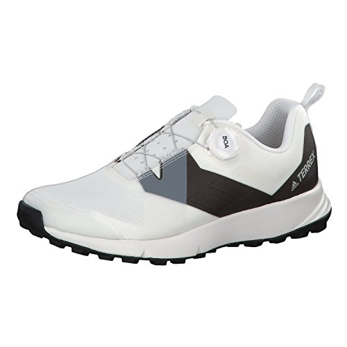 adidas Herren Terrex Two Boa Trekking-& Wanderhalbschuhe, Weiß (Nondye/Transl/Negbás 000), 46 EU