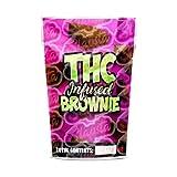 Bolsas comestibles vacías con infusión THC Brownie Mylar pre-etiquetadas